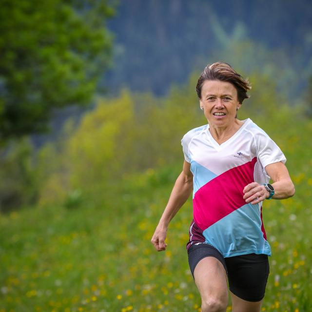 Course Pied Trail Nathalie Mauclair Foret