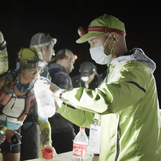 Bagnoles Orne Normandie Trail Course Coureur Traileur Benevole Ravitaillement Ultra Nuit 1