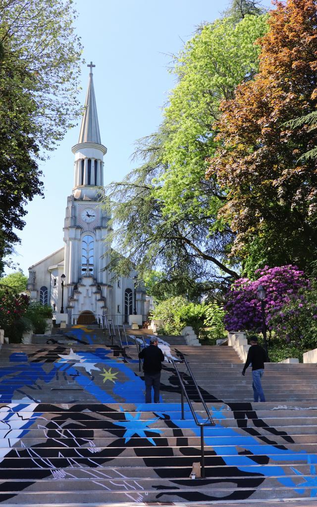 Bagnoles Orne Collectif 100pression Graf Graffeur Peinture Eglise Art Contemporain 2