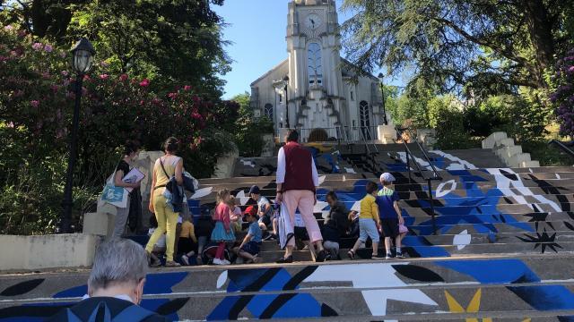 Bagnoles Orne Expo Estivale Collectif 100pression Graf Graffeur Peinture Eglise Art Contemporain Presentation Enfant Adulte