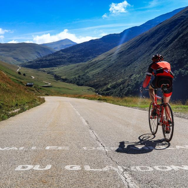 Col du Glandon à vélo