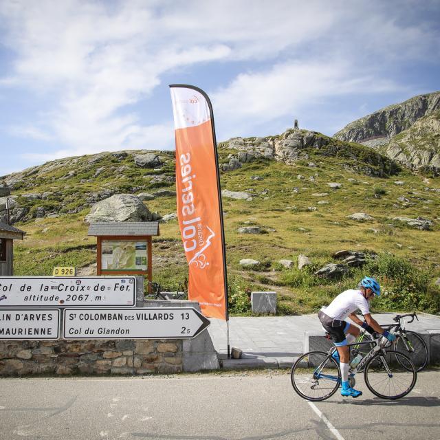 Col de la Croix de Fer à vélo