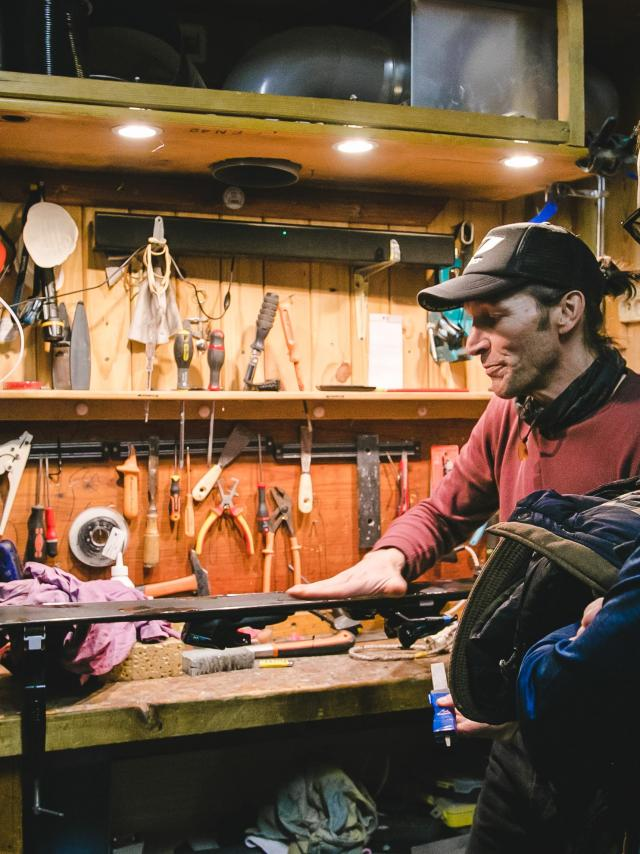 Atelier Réparation De Ski 2019