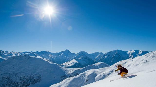 Ski Alpin sur l'Alpe d'Huez Grand Domaine