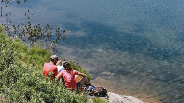 Au bord des lacs d'altitude