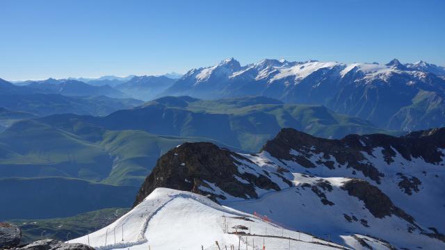 Le Pic Blanc Alpe D'huez@oz En Oisans