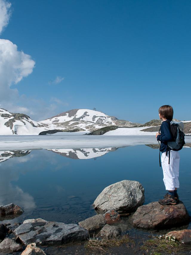 Balade sur le plateau des lacs supérieurs
