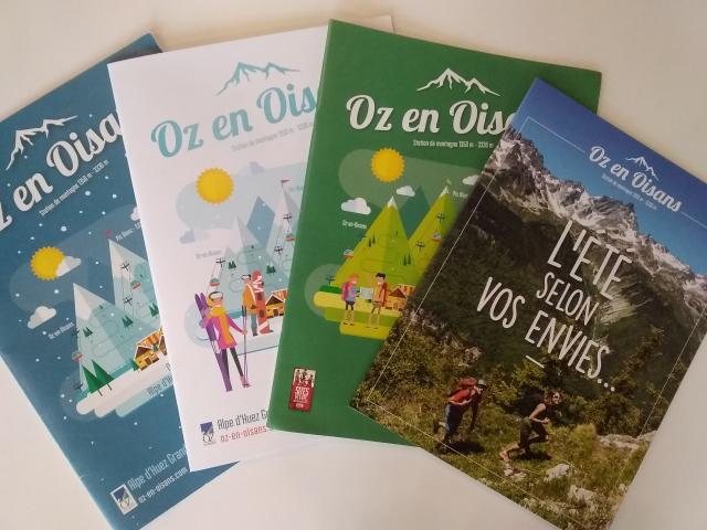 Brochures Oz En Oisans