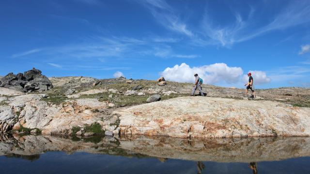 Lacs Dôme Des Rousses