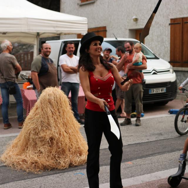 Marché Nocturne Au Village