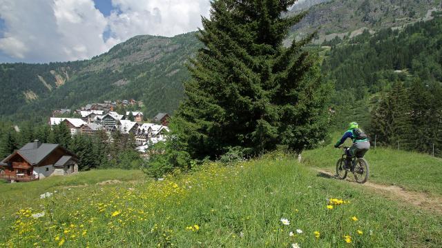 VTT à Oz-en-Oisans et Alpe d'Huez