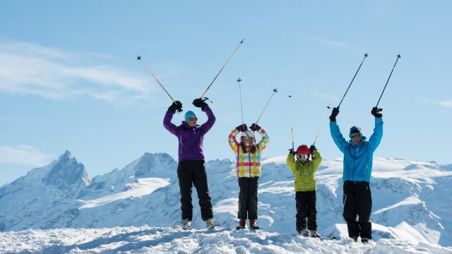 En famille sur l'Alpe d'Huez Grand Domaine Ski