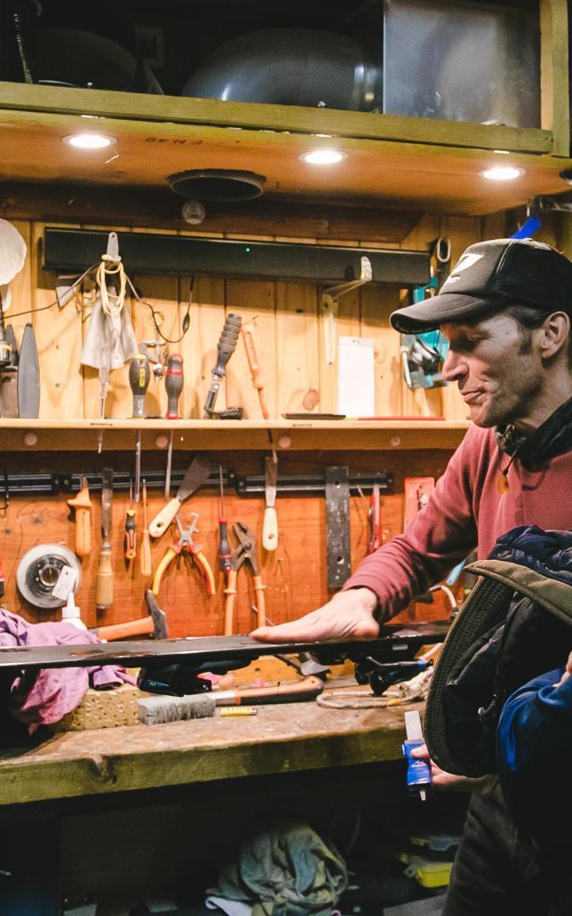 Atelier Réparation Ski 2019