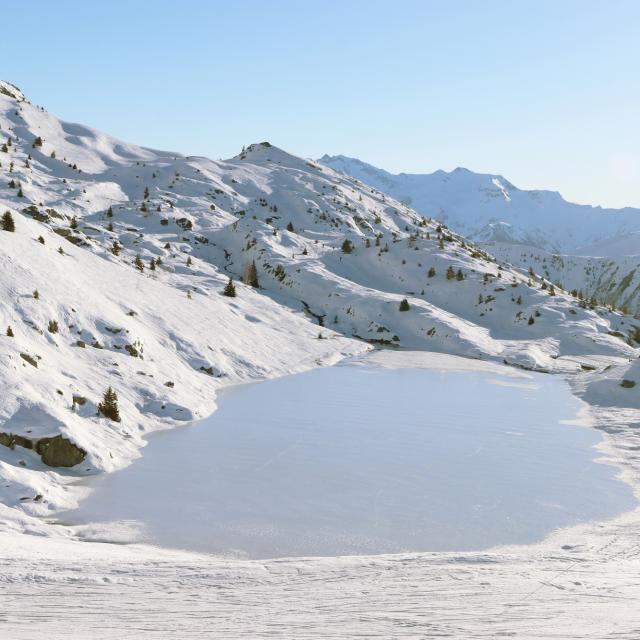 Lac Carrelet hiver
