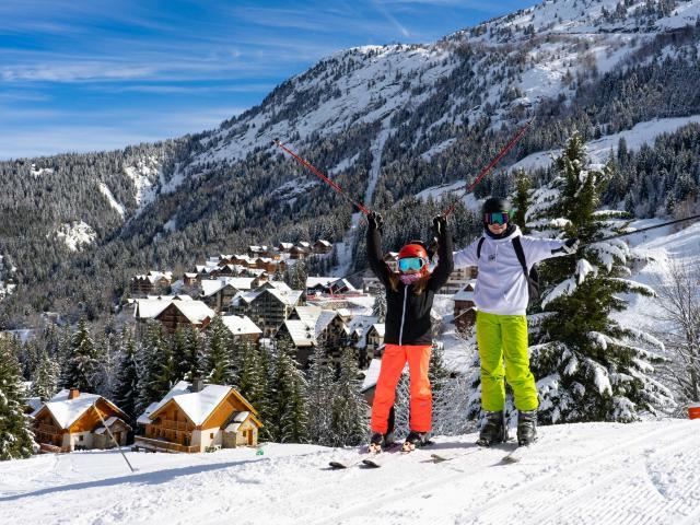 Ski alpin à Oz-en-Oisans