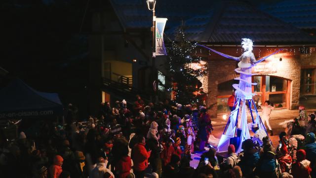 Parade De Noël 2018 à Oz-en-Oisans