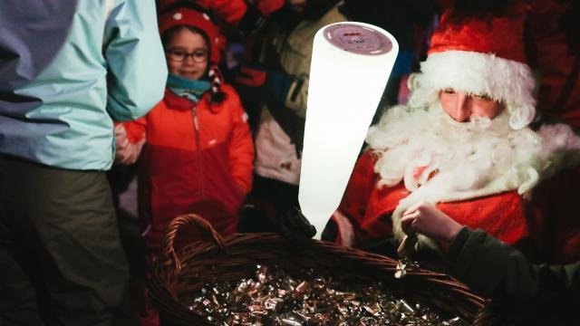 Père Noël 2018 à Oz-en-Oisans
