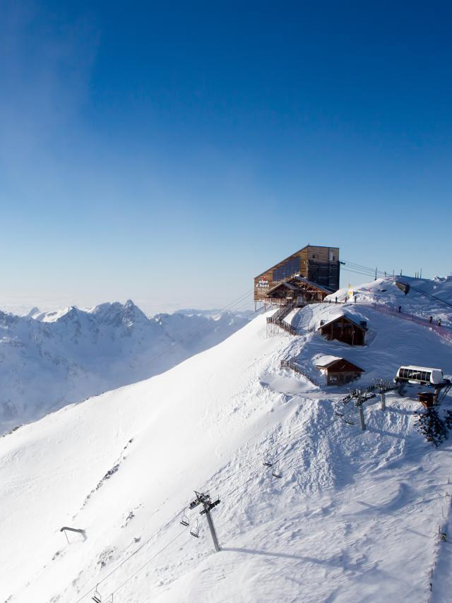 Gare d'arrivée Pic Blanc Alpe d'huez Grand Domaine