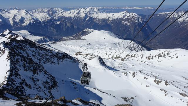 Pic Blanc Alpe D'huez 2 Oz En Oisans