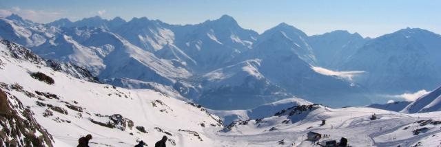 Piste De La Sarenne Alpe D'huez Grand Domaine Ski@oz En Oisans