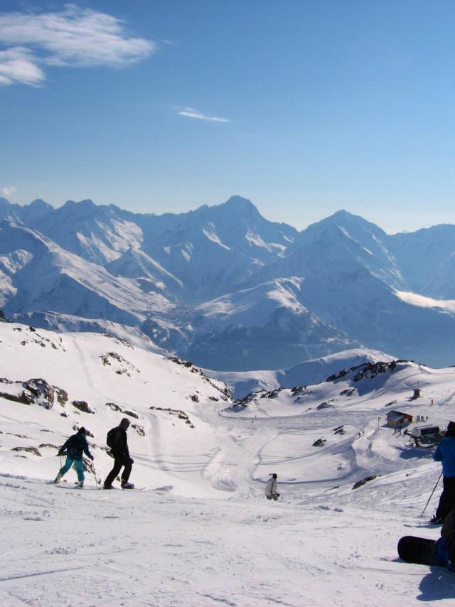 Piste de La Sarenne Alpe D'huez Grand Domaine