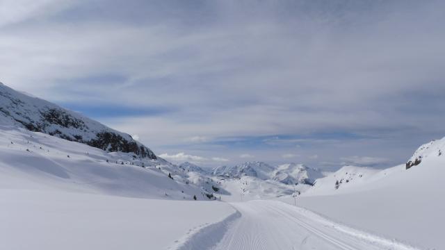 Piste De Ski De Fond