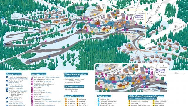 Plan Station Oz En Oisans Hiver 2020 Jpg