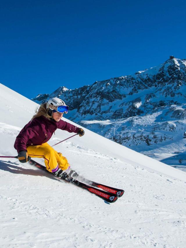 Ski Alpin à Oz-en-Oisans et l'Alpe d'Huez