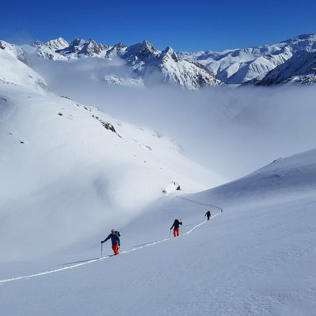 Ski de rando en Oisans
