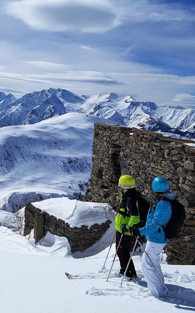 Ski de rando sur l'Alpe d'Huez Grand Domaine