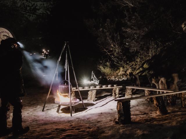 Soirée trappeur à Oz-en-Oisans