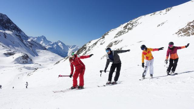 Cours de ski alpin adultes