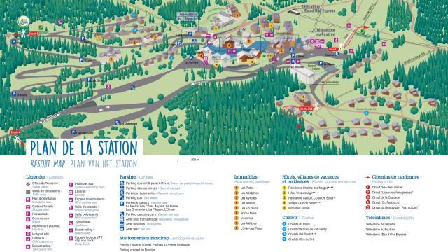 Plan De La Station Ete 2021