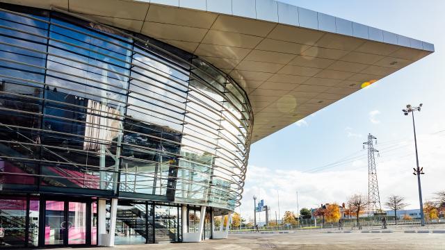 Parc des expositions, hall Amphitéa