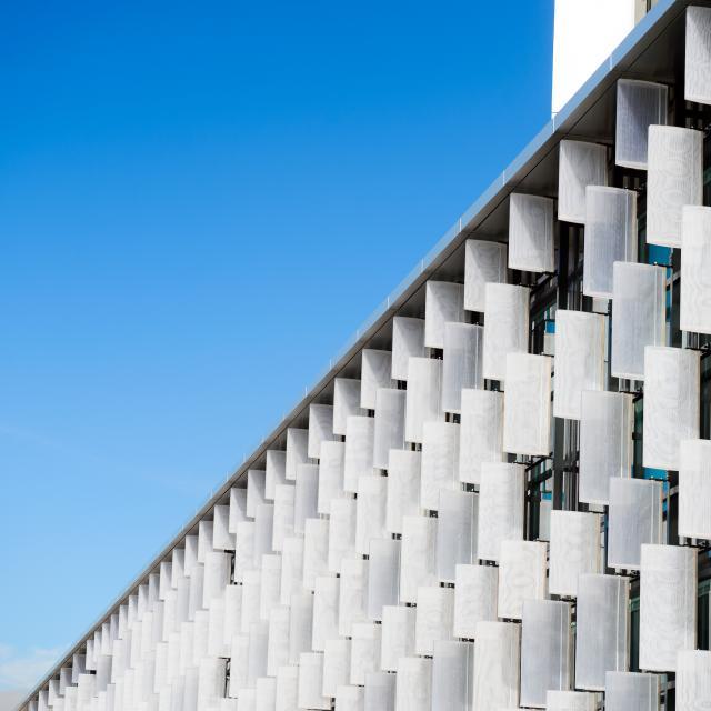 Façade, Centre de congrès d'Angers