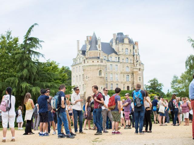 Visite de groupe Château de Brissac