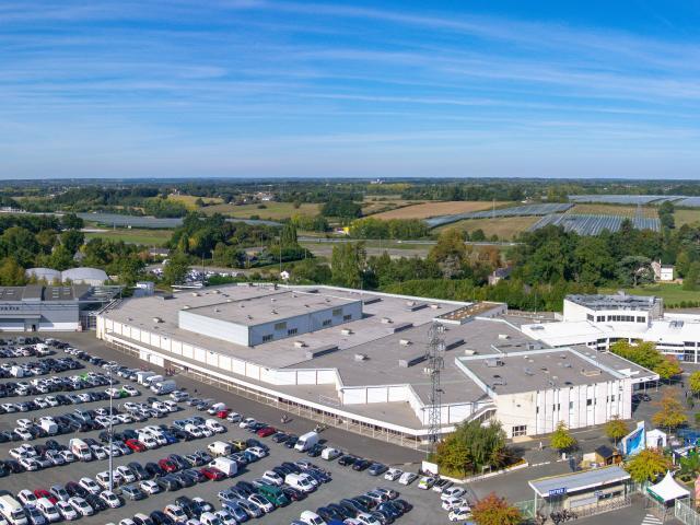 Vue aérienne Parc des expositions d'Angers