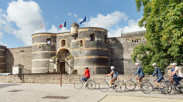 Sites touristiques, Angers Bike tour