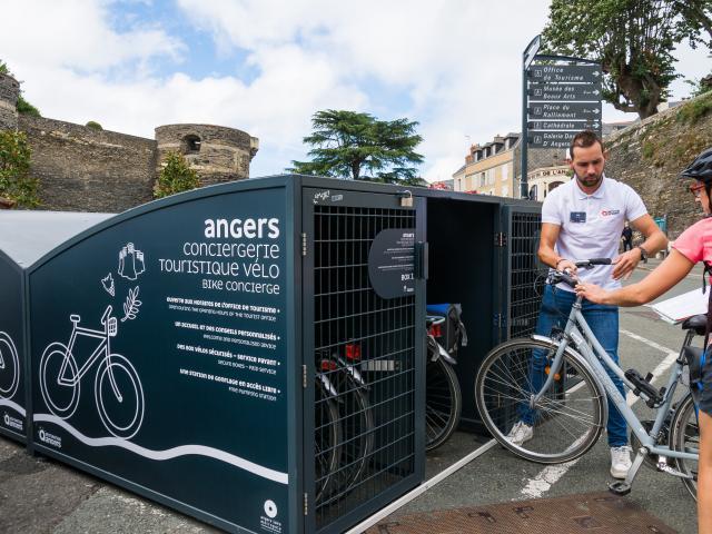 Conciergerie vélo de l'Office de tourisme d'Angers