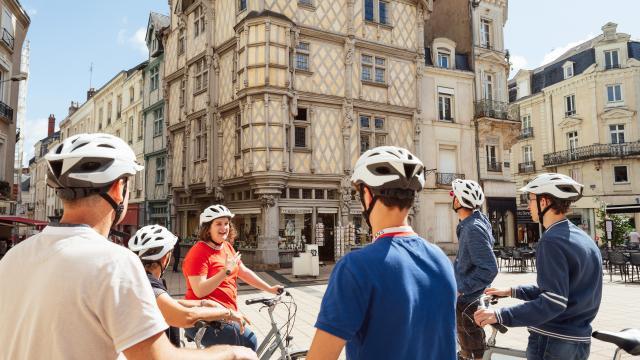 Angers Bike Tour, visite guidée à vélo