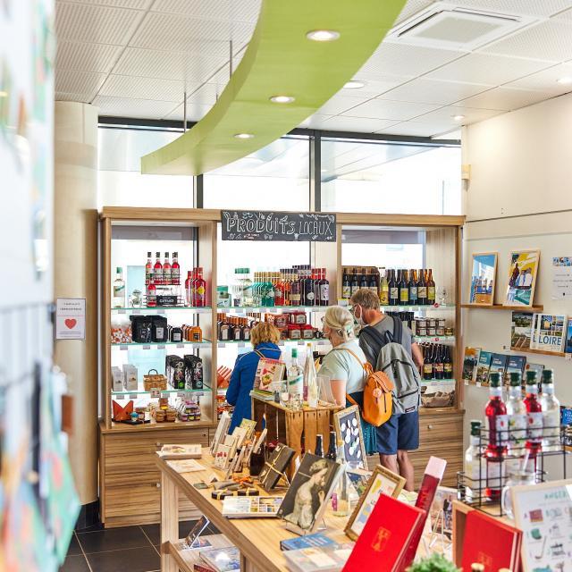 Boutique de l'Office de tourisme d'Angers