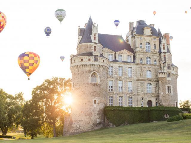 Championnat d'Europe de Montgolfières, Château de Brissac