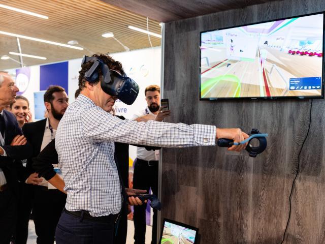 Congrès En mode senior, réalité virtuelle