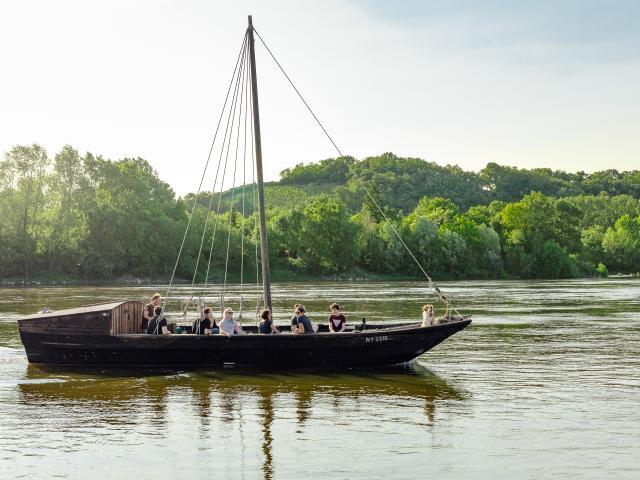 Sortie en toue sur la Loire