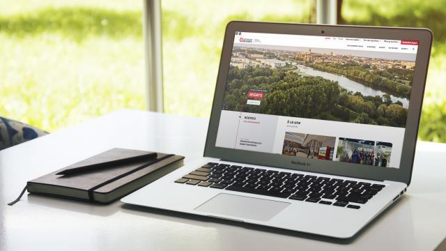 Nouveau site internet Destination Angers