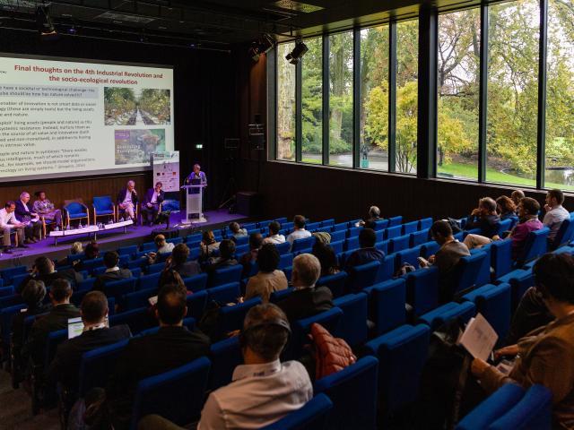 Icmasim 2019 Amphi Jardin Centre De Congres Angers