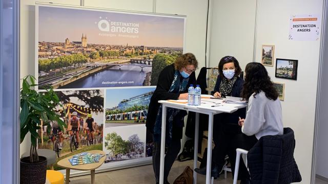 Stand Destination Angers Forum Esthua 2021