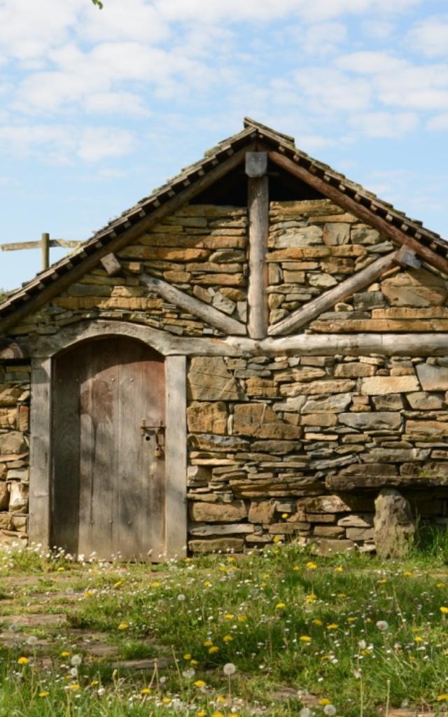 Cabaña de pastores en Aramits