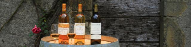 Clos Guirouilh à Bouteilles et verres de vin du Clos Guirouilh à Lasseube