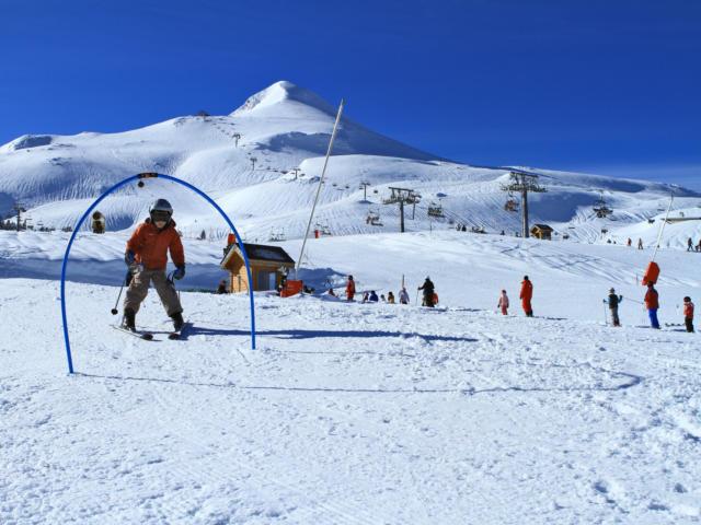 Iniciación esquí en La Pierre Saint-Martin